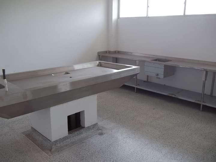 Muebles para lavado hospitalario