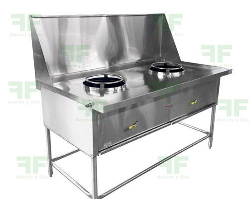 Estufa wok para comida china
