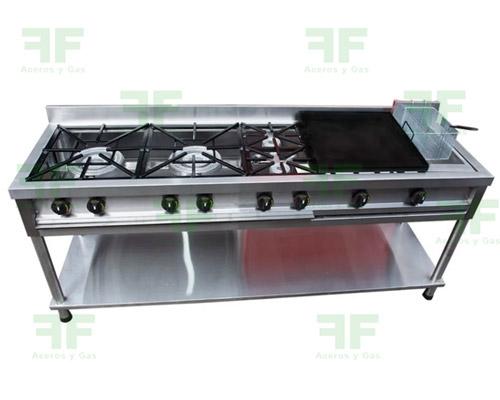 estufa industrial en acero inoxidable cucuta