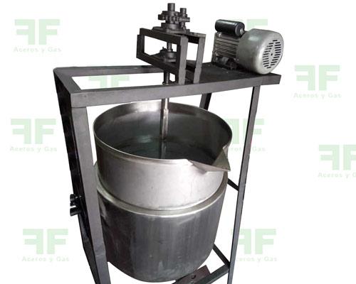 Marmita industrial para frutas, arequipe y yogurt