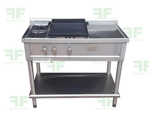 estufa industrial sencilla en acero